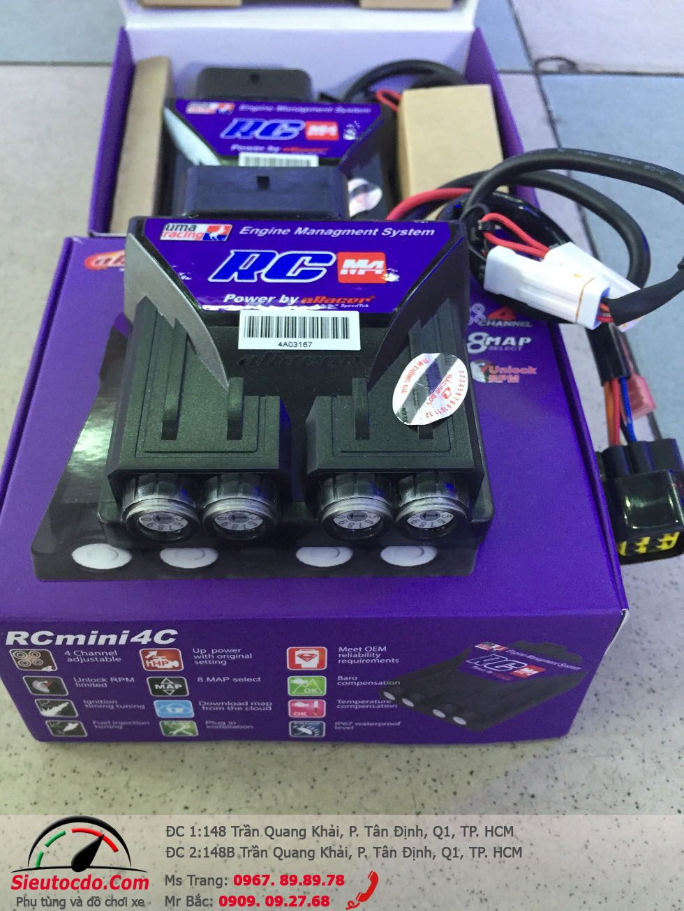 RCM4 ECU for Y15ZR STD-314 UMAracing