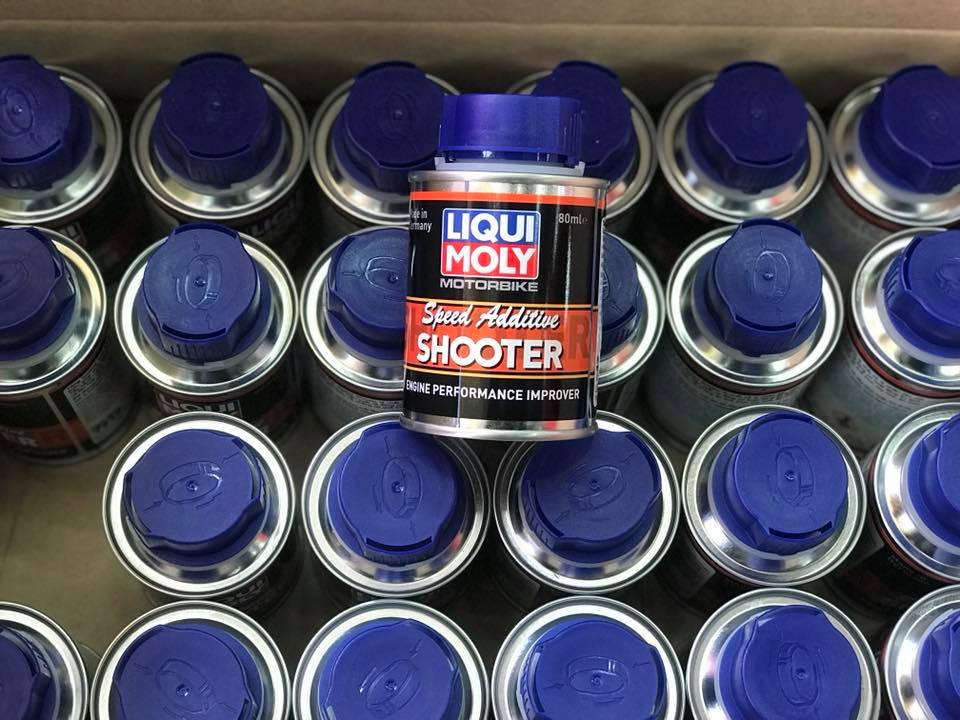 Liqui Moly 4T Additive Shooter - Carbon Cleaner STD-1029 LIQUI