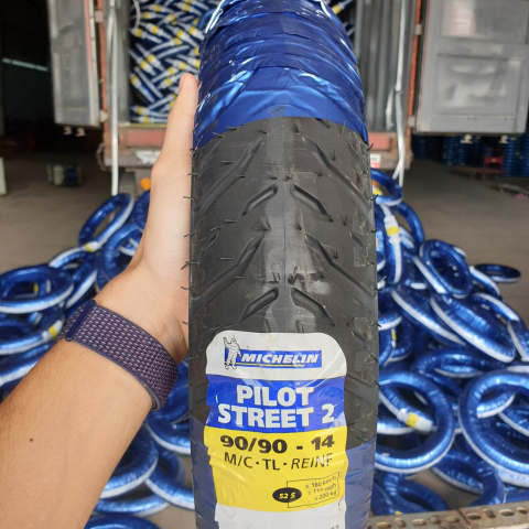 Vỏ Michelin 90/90-14 Pilot Street 2 STD-1342 Michelin